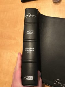 Study bibles with tabs
